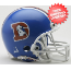Denver Broncos 1975 to 1996 Riddell Mini Replica Throwback Helmet