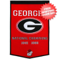 Home Accessories, Game Room: Georgia Bulldogs Dynasty Banner
