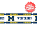 Home Accessories, Bed and Bath: Michigan Wolverines Wallpaper Border
