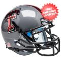 Helmets, Mini Helmets: Texas Tech Red Raiders Mini XP Authentic Helmet Schutt <B>Gray 16</B>