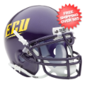 Helmets, Mini Helmets: East Carolina Pirates Mini XP Authentic Helmet Schutt <B>ECU</B>