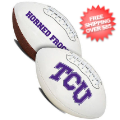 Collectibles, Footballs: TCU Horned Frogs NCAA Signature Series Full Size Football