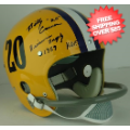 Autographs, Full Size Helmet: Billy Cannon LSU Tigers Autographed Full Size Replica Helmet