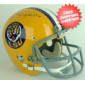 Autographs, Full Size Helmet: Burt Jones LSU Tigers Autographed Full Size Replica Helmet