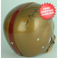 Autographs, Full Size Helmet: Sammy Baugh Washington Redskins Autographed Full Size Replica Helmet