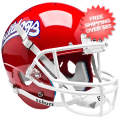 Helmets, Mini Helmets: Fresno State Bulldogs Mini XP Authentic Helmet Schutt <B>Scarlet</B>