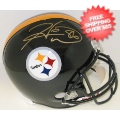 Autographs, Full Size Helmet: Hines Ward Pittsburgh Steelers Autographed Mini Helmet