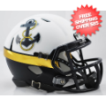 Helmets, Mini Helmets: Navy Midshipmen NCAA Mini Speed Football Helmet <B>2012 Special</B>