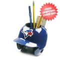 Office Accessories, Desk Items: Toronto Blue Jays Miniature Batters Helmet Desk Caddy