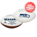 Collectibles, Footballs: Seattle Seahawks NFL Signature Series Full Size Football
