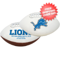 Collectibles, Footballs: Detroit Lions NFL Signature Series Full Size Football