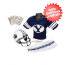 Brigham Young Cougars NCAA Youth Uniform Set