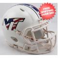 Helmets, Mini Helmets: Virginia Tech Hokies NCAA Mini Speed Football Helmet <B>Stars and Stripes</...