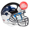 Helmets, Mini Helmets: Nevada Wolfpack Mini XP Authentic Helmet Schutt <B>Chrome Silver</B>