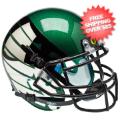 Helmets, Mini Helmets: Oregon Ducks Mini XP Authentic Helmet Schutt <B>Titanium Thunder Green</B>