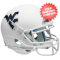 Helmets, Mini Helmets: West Virginia Mountaineers Mini XP Authentic Helmet Schutt <B>Matte White</...