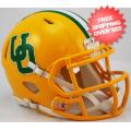 Helmets, Mini Helmets: Oregon Ducks NCAA Mini Speed Football Helmet <B>Yellow Throwback</B>