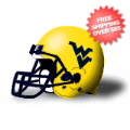 Helmets, Full Size Helmet: West Virginia Mountaineers Full XP Replica Football Helmet Schutt <B>Matte ...