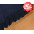 Home Accessories, Bed and Bath: Michigan Wolverines Bedskirt Full
