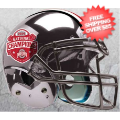 Helmets, Full Size Helmet: Ohio State Buckeyes 2014 National Champions Replica Football Helmet Schutt ...
