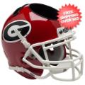 Office Accessories, Desk Items: Georgia Bulldogs Miniature Football Helmet Desk Caddy