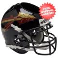 Office Accessories, Desk Items: Florida State Seminoles Miniature Football Helmet Desk Caddy <B>Black</B>