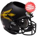Office Accessories, Desk Items: Arizona State Sun Devils Miniature Football Helmet Desk Caddy <B>Matte Blac...