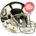 Helmets, Full Size Helmet: Baylor Bears Full XP Replica Football Helmet Schutt <B>Chrome</B>