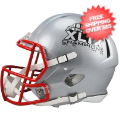 Helmets, Full Size Helmet: Super Bowl 49 New England Patriots Speed Football Helmet Champs