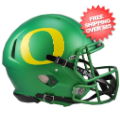 Helmets, Full Size Helmet: Oregon Ducks Speed Football Helmet <B>Apple Green</B>
