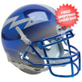 Helmets, Mini Helmets: Air Force Falcons Mini XP Authentic Helmet Schutt <B>Chrome</B>