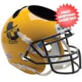 Office Accessories, Desk Items: Appalachian State Mountaineers Miniature Football Helmet Desk Caddy <B>Yose...