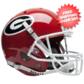 Helmets, Full Size Helmet: Georgia Bulldogs Full XP Replica Football Helmet Schutt