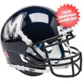 Helmets, Mini Helmets: Memphis Tigers Mini XP Authentic Helmet Schutt <B>Chrome Decal</B>