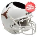 Office Accessories, Desk Items: Texas Longhorns Miniature Football Helmet Desk Caddy