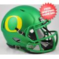 Helmets, Mini Helmets: Oregon Ducks NCAA Mini Speed Football Helmet <B>Apple Green</B>