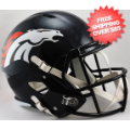 Helmets, Full Size Helmet: Denver Broncos Speed Replica Football Helmet