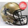 Helmets, Full Size Helmet: New Orleans Saints Speed Replica Football Helmet