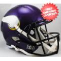 Helmets, Full Size Helmet: Minnesota Vikings Speed Replica Football Helmet
