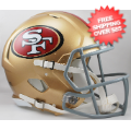 Helmets, Full Size Helmet: San Francisco 49ers Speed Football Helmet