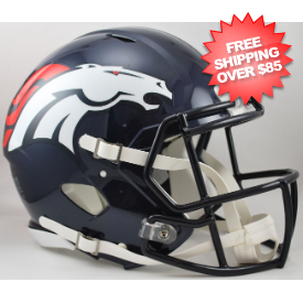 Denver Broncos Speed Football Helmet