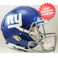 Helmets, Full Size Helmet: New York Giants Speed Football Helmet