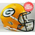 Helmets, Full Size Helmet: Green Bay Packers Speed Football Helmet