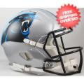 Helmets, Full Size Helmet: Carolina Panthers Speed Football Helmet