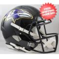 Helmets, Full Size Helmet: Baltimore Ravens Speed Football Helmet