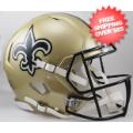 Helmets, Full Size Helmet: New Orleans Saints Speed Football Helmet
