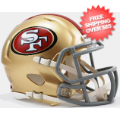 Helmets, Mini Helmets: San Francisco 49ers NFL Mini Speed Football Helmet