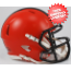 Cleveland Browns NFL Mini Speed Football Helmet <B>NEW 2015</B>