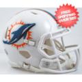 Helmets, Mini Helmets: Miami Dolphins NFL Mini Speed Football Helmet