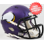 Minnesota Vikings NFL Mini Speed Football Helmet <B>Satin Purple</B>